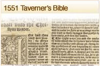 1551 Taverneres Bible